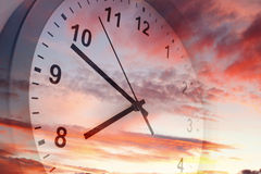Time passing Stock Image