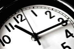 Time passing - Wall Clock Royalty Free Stock Images