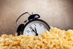 Time for pasta Royalty Free Stock Images