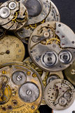 Time Pieces Needing Repair Vertical Pocket Watch stock image