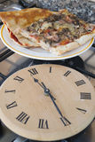 Time of pizza express Stock Photography