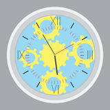 Time planning design gear Stock Photos