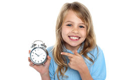 Time is precious, make use of it Royalty Free Stock Image