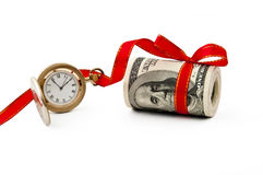 Time present Stock Photo