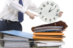 Time Pressure Royalty Free Stock Photography