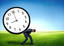 Time pressure concept Stock Photo