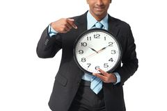 Time pressure Royalty Free Stock Photo