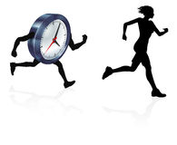 Time Pressure Sress Concept Stock Photos
