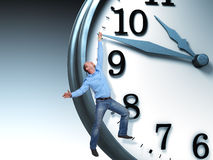 Time problem Royalty Free Stock Image