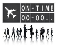 On Time Punctual Efficiency Organization Management Concept Stock Photo