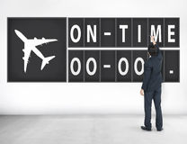 On Time Punctual Efficiency Organization Management Concept Royalty Free Stock Image