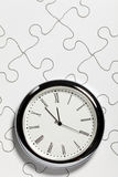 Time Puzzle. Concept of Solution Royalty Free Stock Image