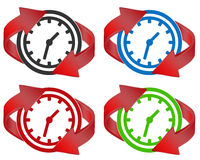 Time renew Royalty Free Stock Photography