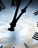Time ripples Royalty Free Stock Image
