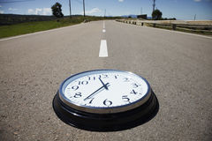 Time on the road Royalty Free Stock Photos