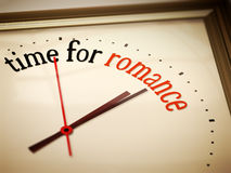 Time for romance. An image of a nice clock with time for romance Royalty Free Stock Images