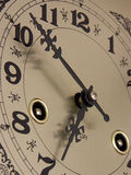 Time is running. Clock face royalty free stock image