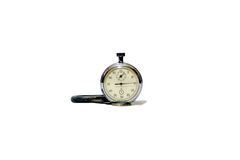 Time is running. Seconds counter on white background, on which you can see that time is running Royalty Free Stock Photos