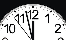 Time is running royalty free stock images