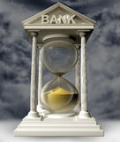 Time is running out for banks Royalty Free Stock Photos