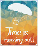 Time is running out! Stock Photography