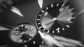 Time is running out. Close-up of watch. Close-up of watch with clock hands moving stock footage