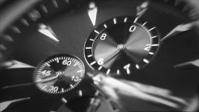 Time is running out. Close-up of watch. Royalty Free Stock Photography