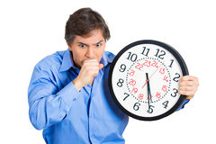 Time running out Royalty Free Stock Images