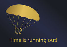 Time is running out! Stock Photos