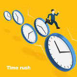 Time rush concept Royalty Free Stock Images