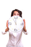 Time / it's 5 before 12 Royalty Free Stock Image