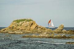 Time for sailing boats royalty free stock photo