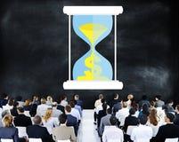 Time Sand Glass Hour Glass Finance Saving Concept Stock Photography