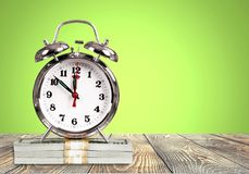 Time. Save savings daylight up nap countdown royalty free stock photo