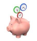 Time Saving Illustration Stock Images