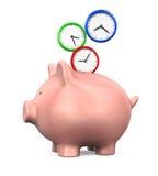 Time Saving Illustration Stock Image