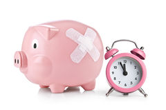 Time for Savings Royalty Free Stock Photo