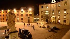 Time-schackningsperiod i Pisa stock video