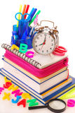 Time for school Royalty Free Stock Images