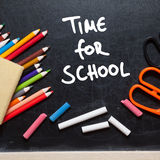 Time for school Royalty Free Stock Photography