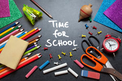 Time for school Royalty Free Stock Image