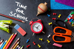 Time for school Royalty Free Stock Photo