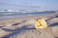 Time and sea concept Stock Photography