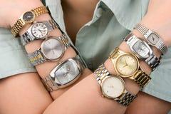 Time Series Concept. Stock Photos