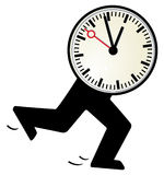 Time is short Royalty Free Stock Photos