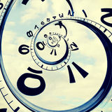 Time and sky Stock Photo