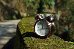 Time slipped away quietly Stock Photography