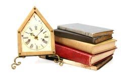Time som ska läsas Fotografering för Bildbyråer