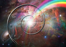 Time space Stock Image