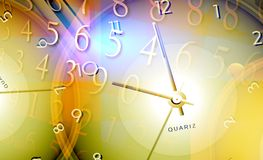Time & space Royalty Free Stock Image